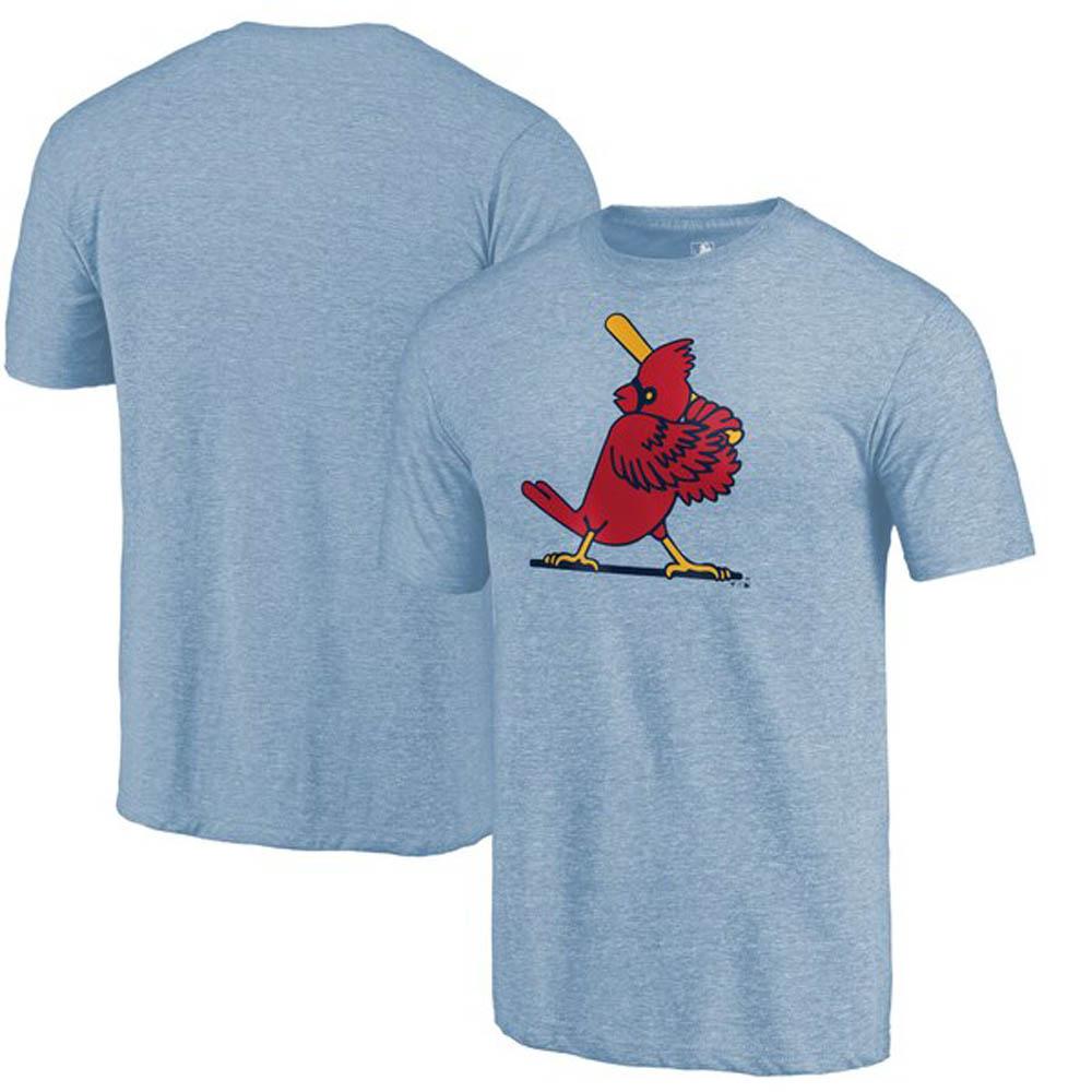 MLB セントルイス・カージナルス Tシャツ クーパーズタウン コレクション ヘザー ライトブルー【1910価格変更】【1112】
