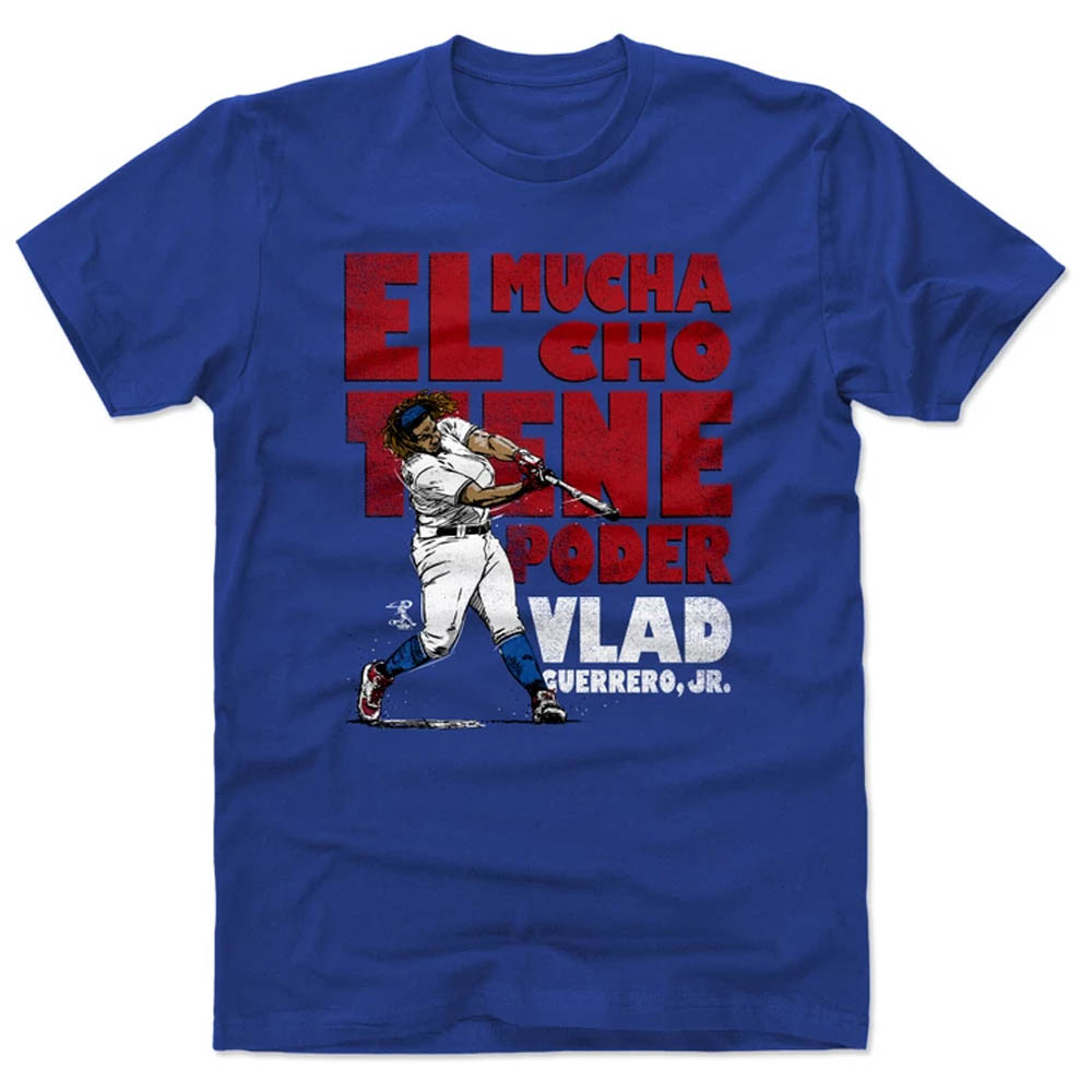 MLB Tシャツ ウラディミール・ゲレーロ・ジュニア トロント・ブルージェイズ 500Level ロイヤル【1910価格変更】【1112LV】