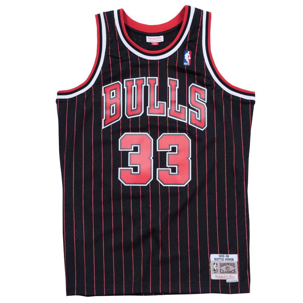 スコッティ・ピッペン ユニフォーム/ジャージ シカゴ・ブルズ NBA ミッチェル&ネス/Mitchell & Ness