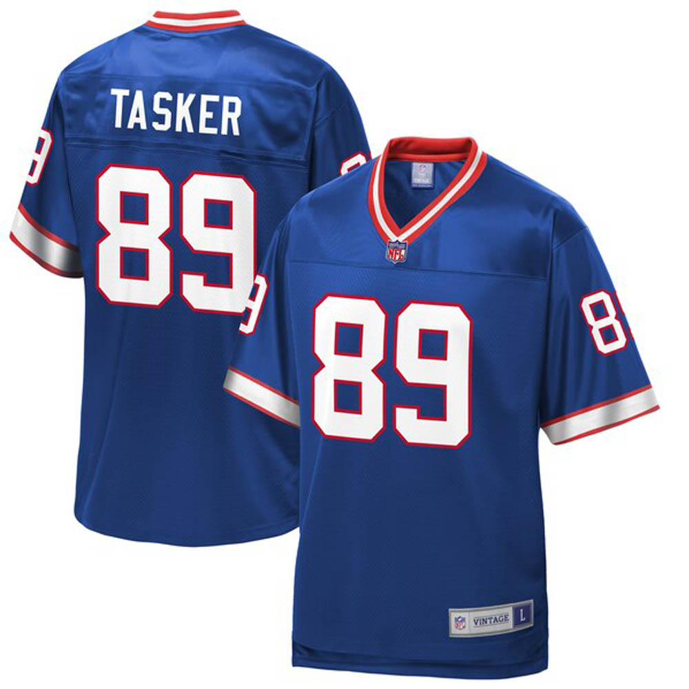 NFL スティーブ・タスカー ビルズ ユニフォーム/ジャージ 引退選手 レプリカ ロイヤル