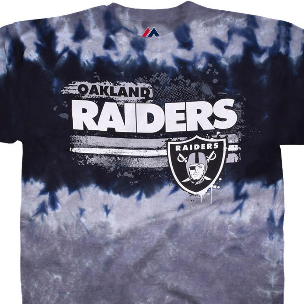 NFL レイダース Tシャツ ステンシル タイダイ染め【lb1910変更】