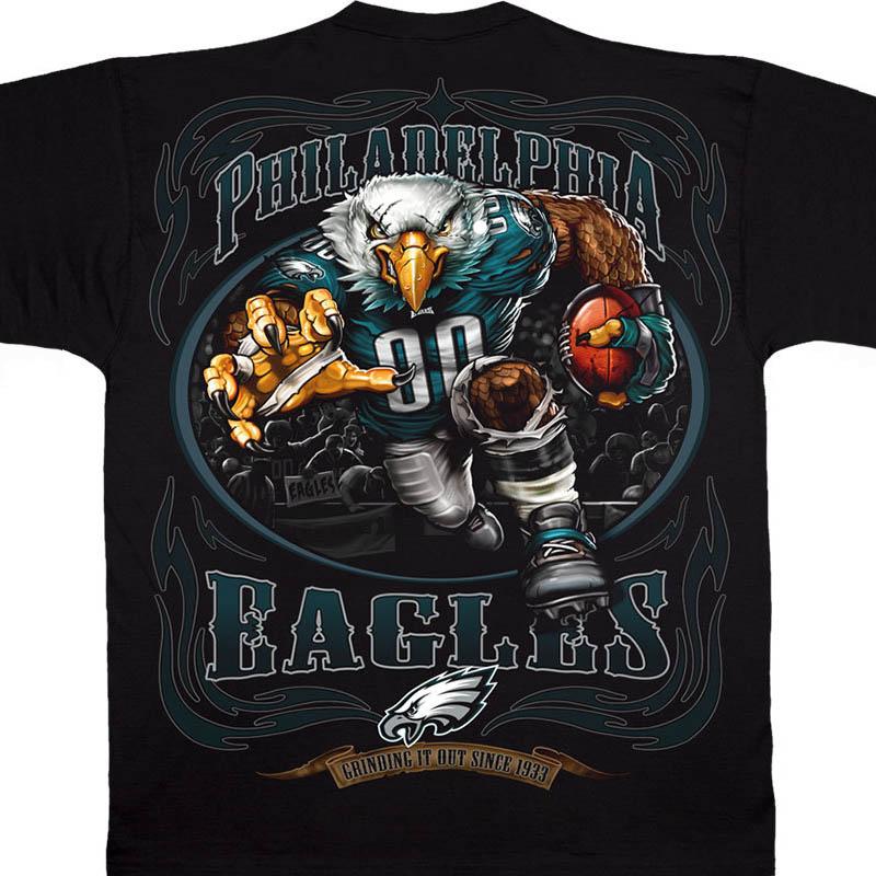 NFL イーグルス Tシャツ ランニング バック ブラック【lb1910変更】