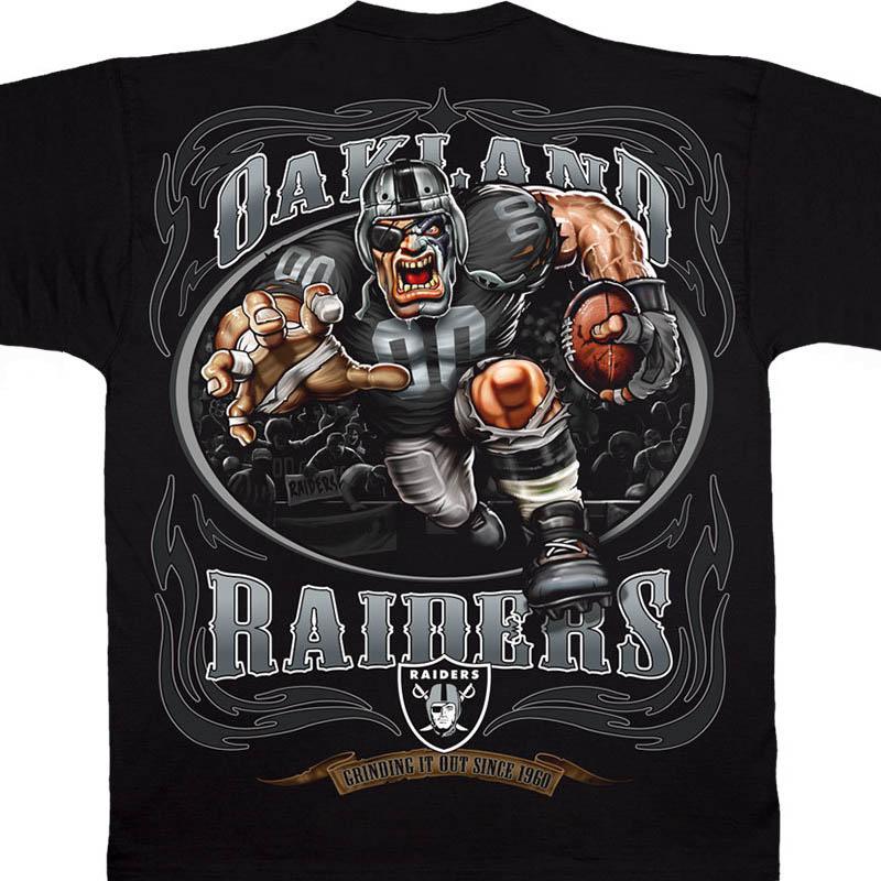 NFL レイダース Tシャツ ランニング バック ブラック【lb1910変更】