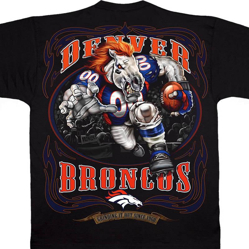 NFL ブロンコス Tシャツ ランニング バック ブラック【lb1910変更】