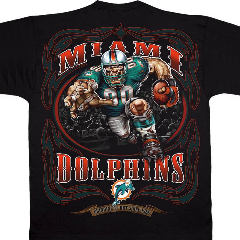 NFL ドルフィンズ Tシャツ ランニング バック ブラック【lb1910変更】