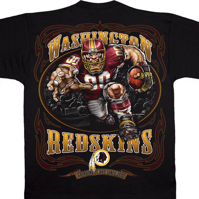 NFL レッドスキンズ Tシャツ ランニング バック ブラック【lb1910変更】