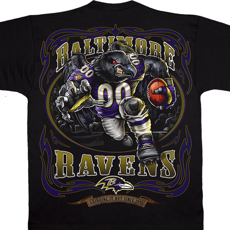 NFL レイブンズ Tシャツ ランニング バック ブラック【lb1910変更】