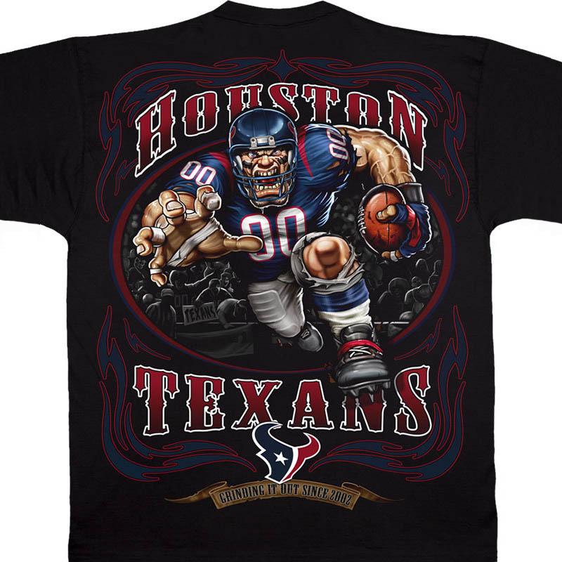 NFL テキサンズ Tシャツ ランニング バック ブラック【lb1910変更】