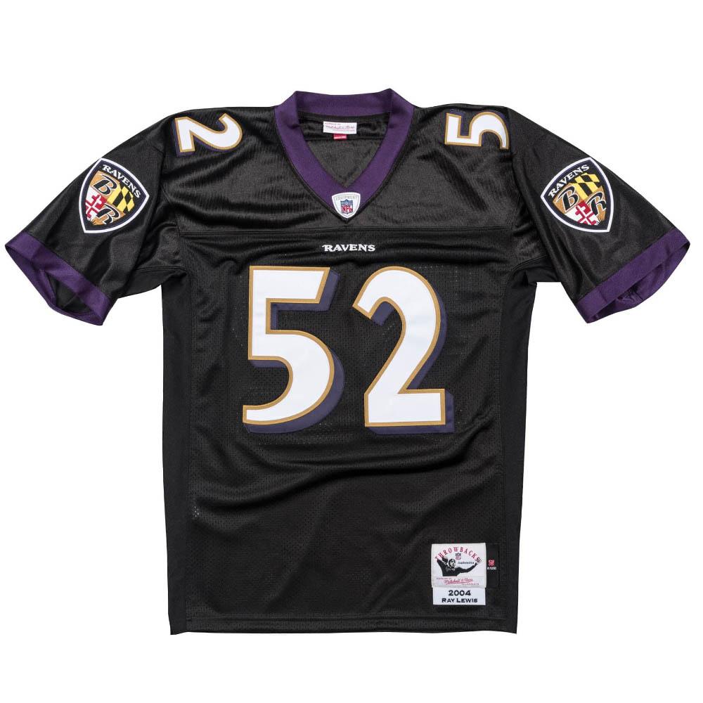 NFL レイ・ルイス レイブンズ ユニフォーム/ジャージ レガシー ミッチェル&ネス/Mitchell & Ness 2004 オルタネート