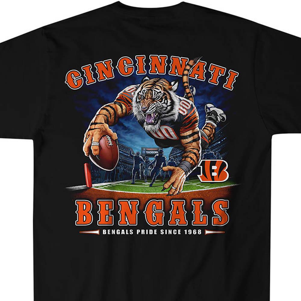 NFL ベンガルズ Tシャツ エンドゾーン ブラック