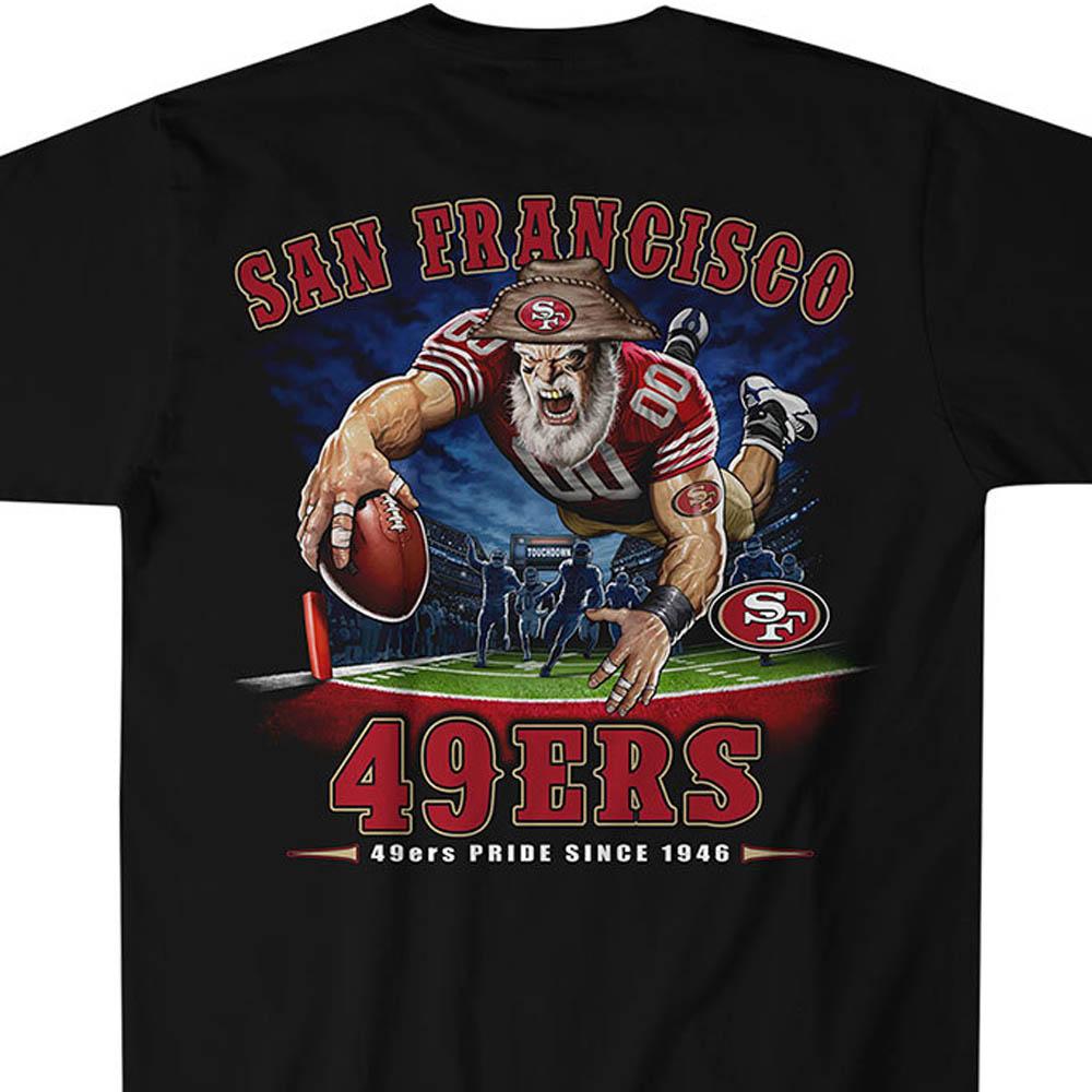 NFL 49ers Tシャツ エンドゾーン ブラック