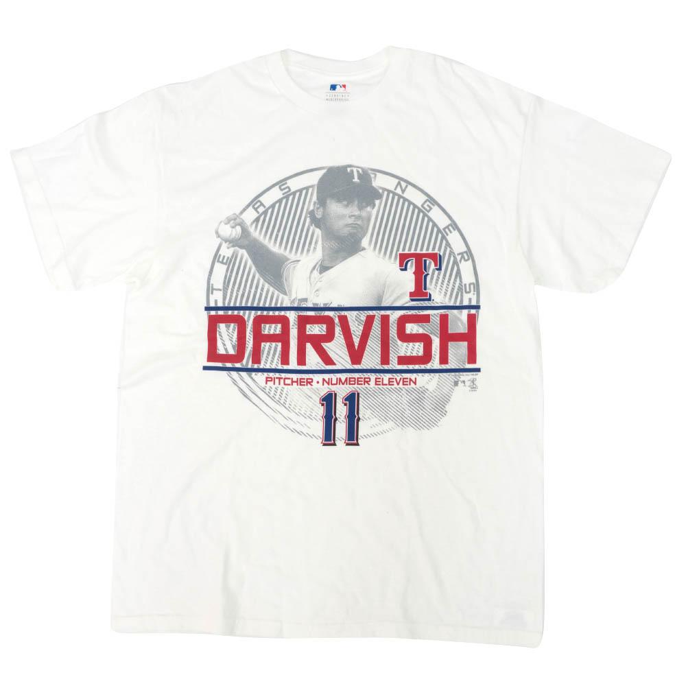 MLB ダルビッシュ有 テキサス・レンジャーズ Tシャツ ピッチャー ナンバー イレブン VF グレー【1910価格変更】【1112】
