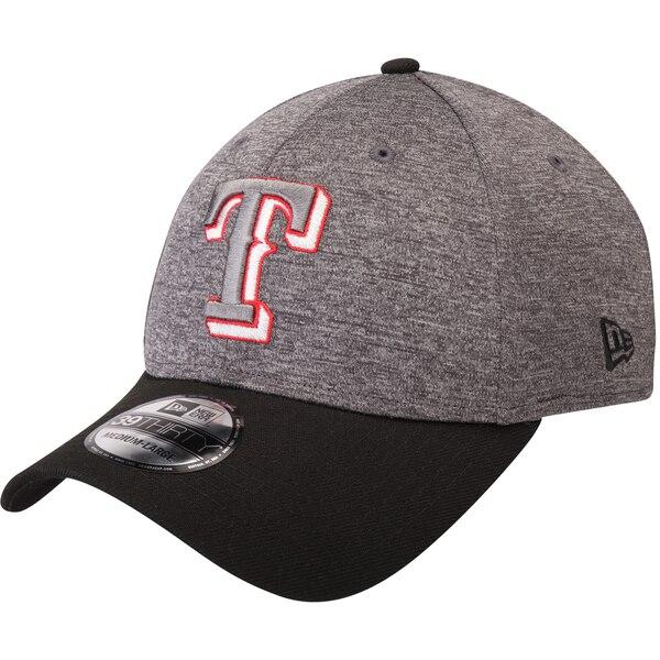 レンジャーズ キャップ ニューエラ NEW ERA MLB 39THIRTY シャドウ テック カラー ポップ ヘザー グレー ブラック【1910価格変更】【191028変更】
