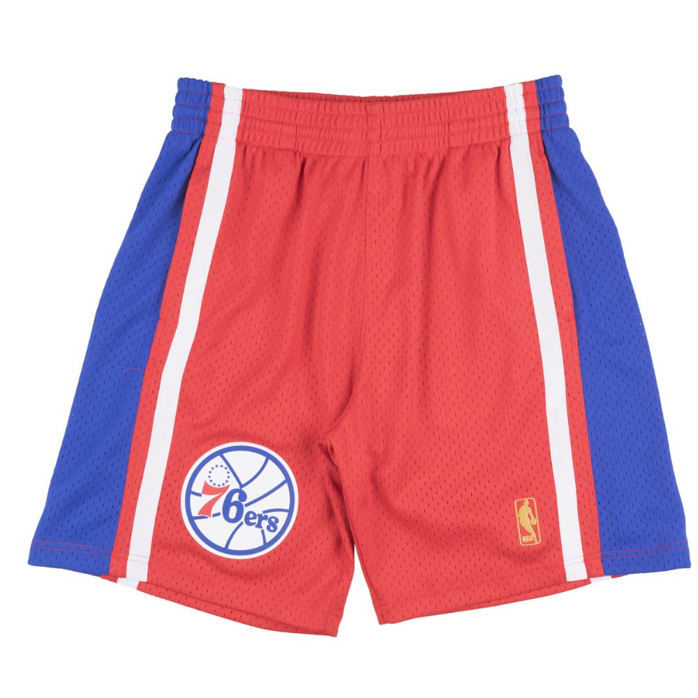 NBA フィラデルフィア・76ers ショートパンツ/ショーツ 1996-97 スウィングマン スローバック ショーツ Mitchell & Ness ロード