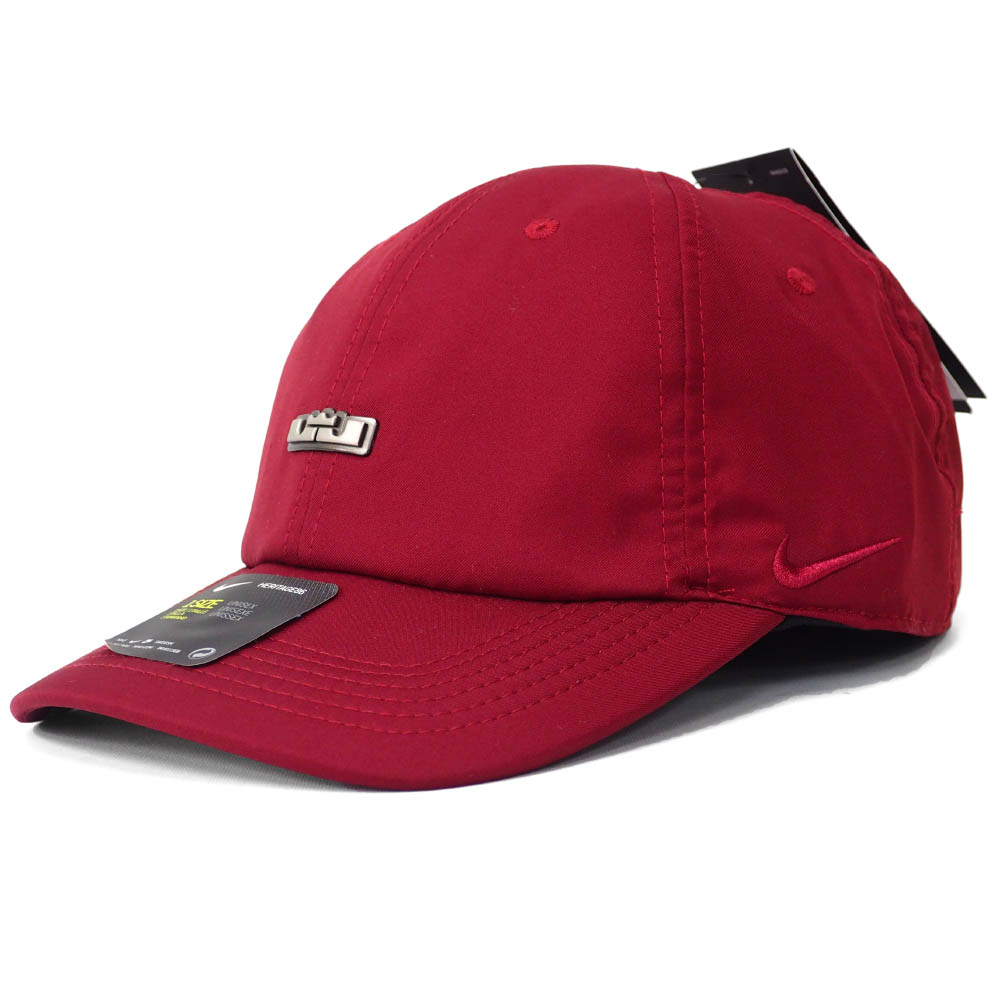 LeBron レブロン・ジェームス キャップ/帽子 アジャスタブル ナイキ/Nike バーガンディ【1910価格変更】【191028変更】