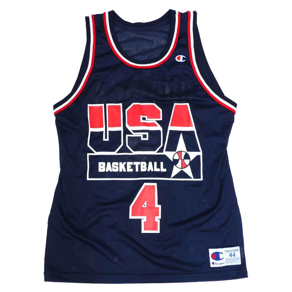 NBA ジョー・デュマース アメリカ代表 ユニフォーム/ジャージ ドリームチーム2 レプリカ ジャージー チャンピオン/Champion