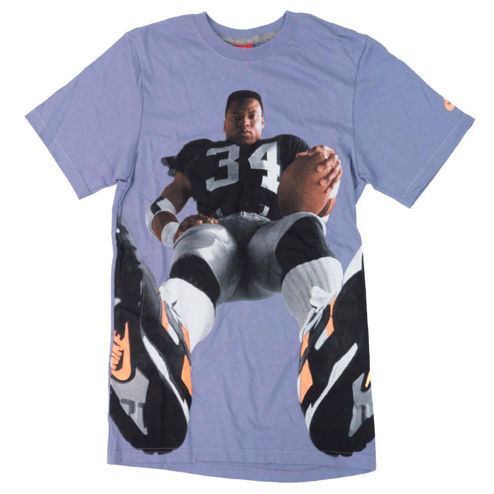 NFL ボー・ジャクソン レイダース Tシャツ フットボール フォト ナイキ/Nike パープル