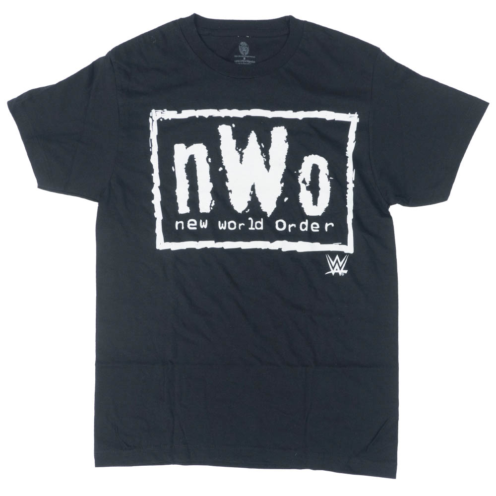 WWE Tシャツ NWO ニュー・ワールド・オーダー WWE Authentic ブラック ホワイト