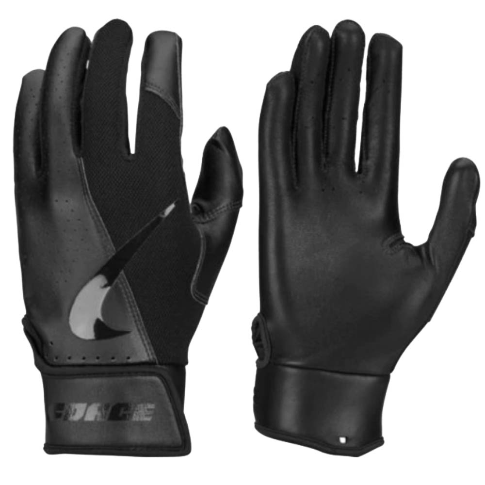Nike BB フォース エッジ バッティング グローブ 手袋 ナイキ/Nike ブラック ブラック ブラック N.BG.21.072.SL【1910価格変更】