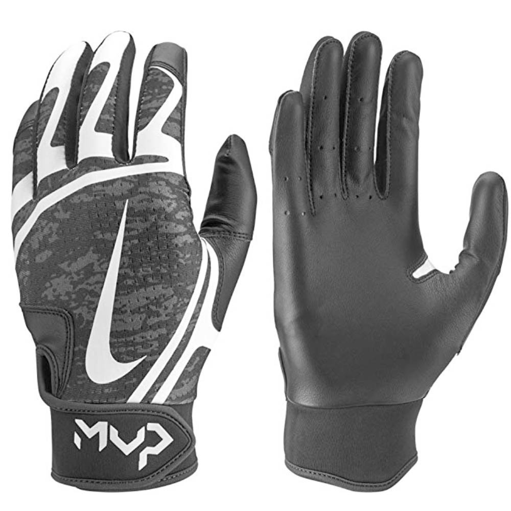 Nike BB ハイパーダイアモンド エッジ バッティング グローブ 手袋 ナイキ/Nike ブラック ホワイト N.BG.12.010.SL【1910価格変更】