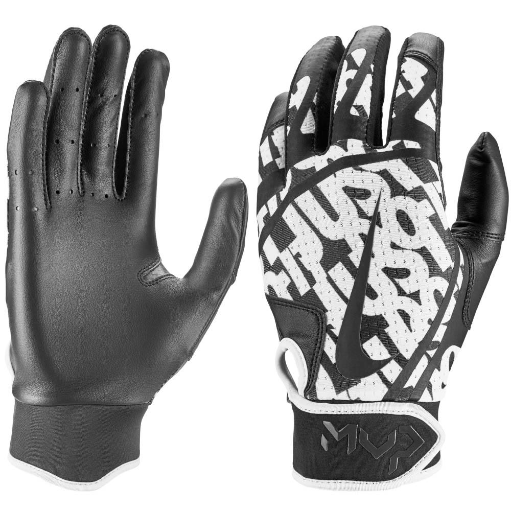 Nike BB ハイパーダイアモンド エッジ バッティング グローブ 手袋 ナイキ/Nike ブラック アンスラサイト N.BG.12.061.SL【1910価格変更】
