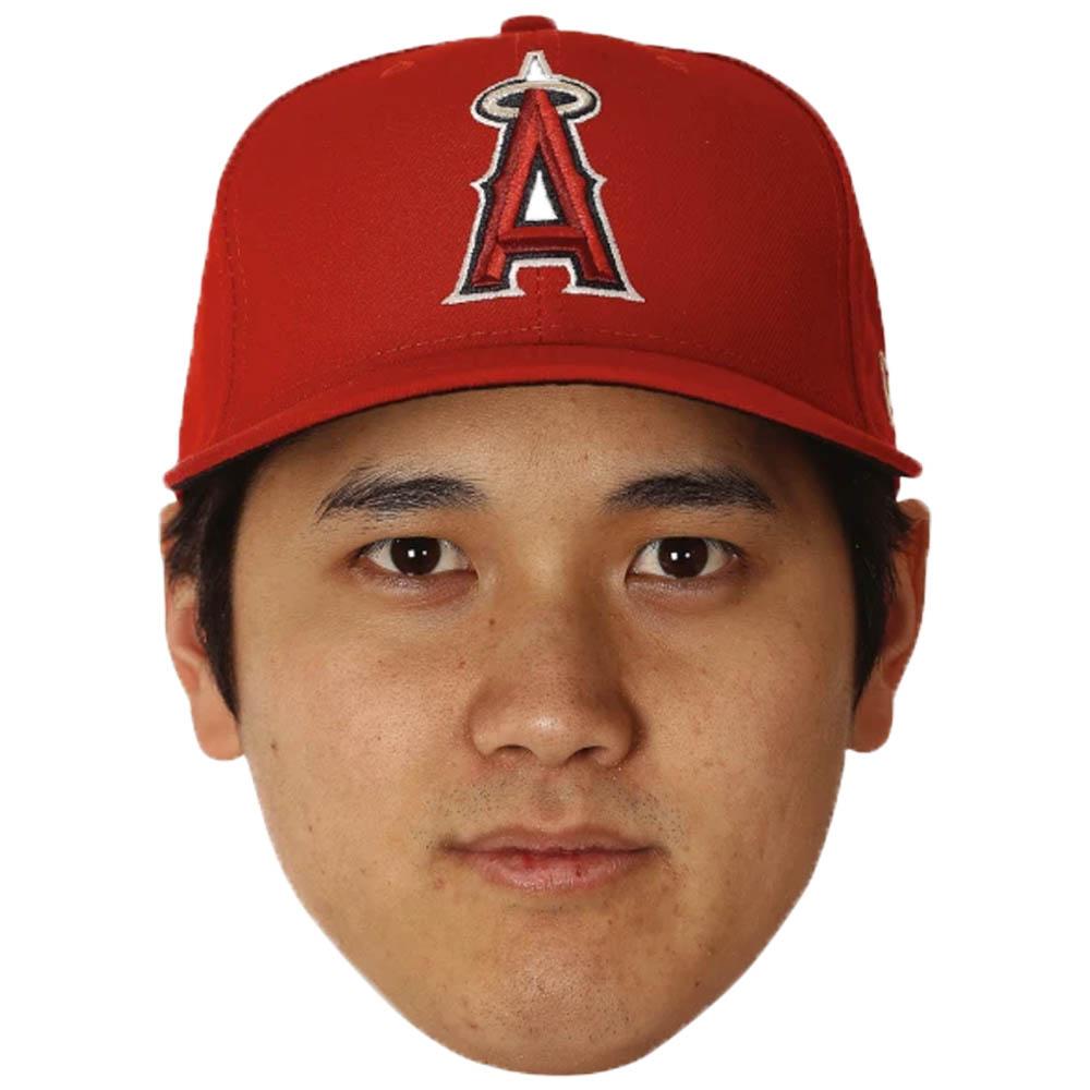 あす楽対応 大迫力 お気に入り選手の顔写真パネルを掲げて応援 メーカー直売 MLB 大谷翔平 ロサンゼルス エンゼルス 24x36 高価値 ヘッド ビッグ カットアウト 野球Other Fathead