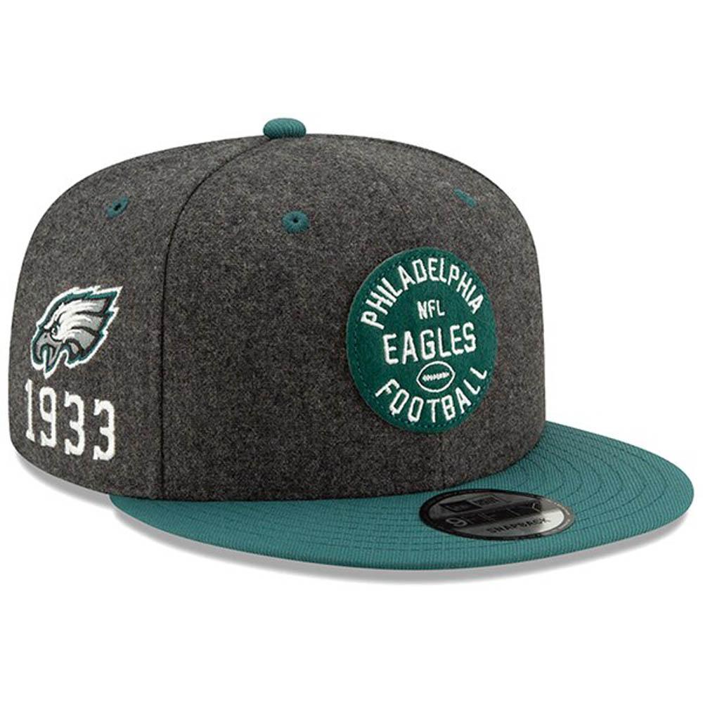 NFL イーグルス キャップ/帽子 2019 サイドライン 9FIFTY 選手着用 100周年 NFL100th ニューエラ/New Era【1910価格変更】【191028変更】