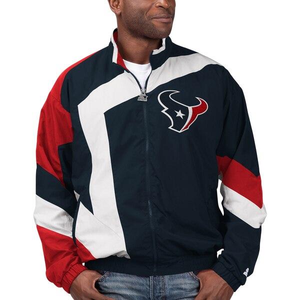 NFL テキサンズ ジャケット/アウター スローバック スター フルジップ STARTER
