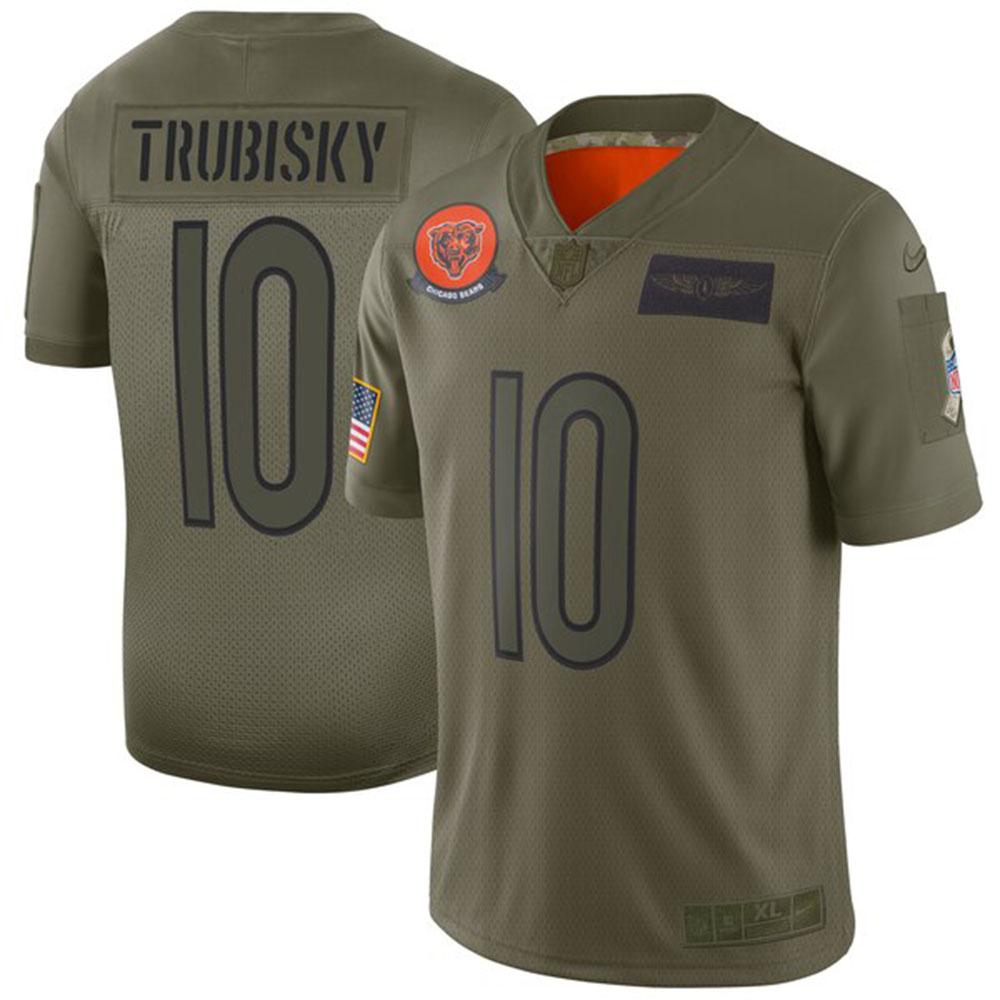 NFL ミッチェル・トゥルビスキー ベアーズ ユニフォーム/ジャージ 2019 サルート トゥ サービス リミテッド ナイキ/Nike カモ
