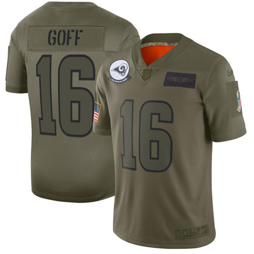 NFL ジャリッド・ゴフ ラムズ ユニフォーム/ジャージ 2019 サルート トゥ サービス リミテッド ナイキ/Nike カモ【1911NFL変更】
