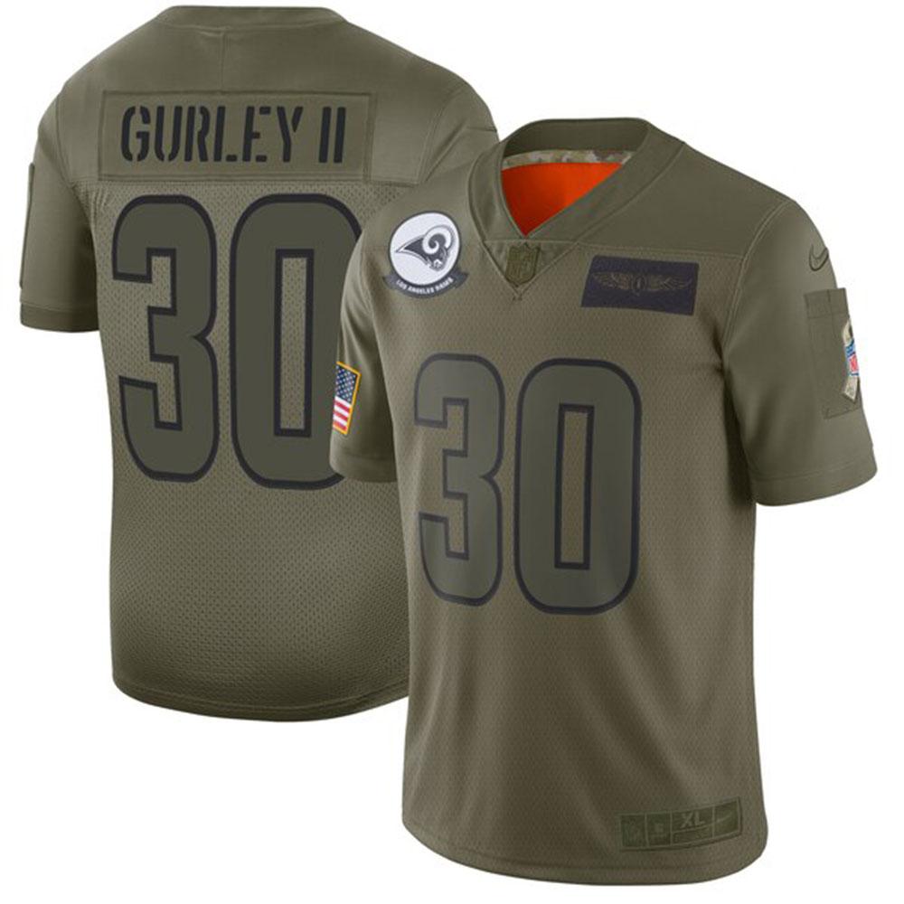 NFL トッド・ガーリー ラムズ ユニフォーム/ジャージ 2019 サルート トゥ サービス リミテッド ナイキ/Nike カモ【1911NFL変更】