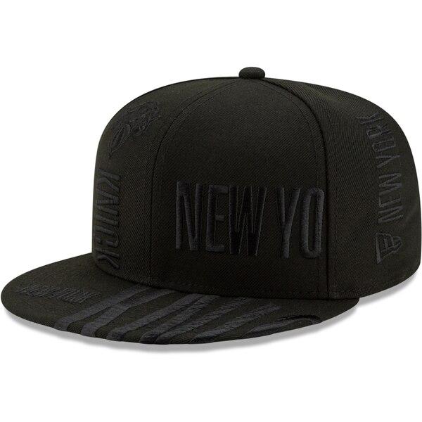 NBA ニューヨーク・ニックス キャップ/帽子 2019 NBA ティップオフシリーズ トーナル 59FIFTY ニューエラ/New Era ブラック【191028変更】