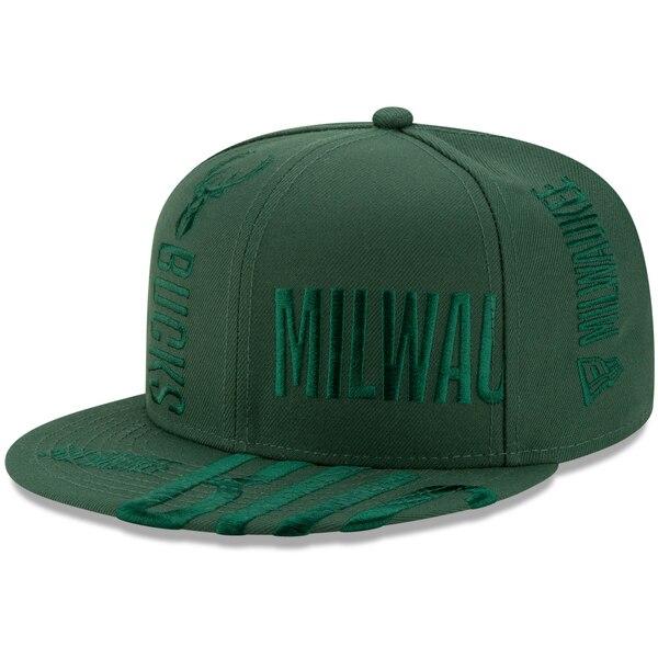 NBA ミルウォーキー・バックス キャップ/帽子 2019 NBA ティップオフシリーズ トーナル 9FIFTY ニューエラ/New Era Green【191028変更】