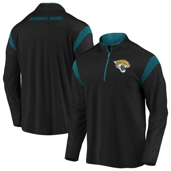NFL ジャガーズ ジャケット/アウター アイコニック ディフェンダー ミッション クオータージップ ブラック