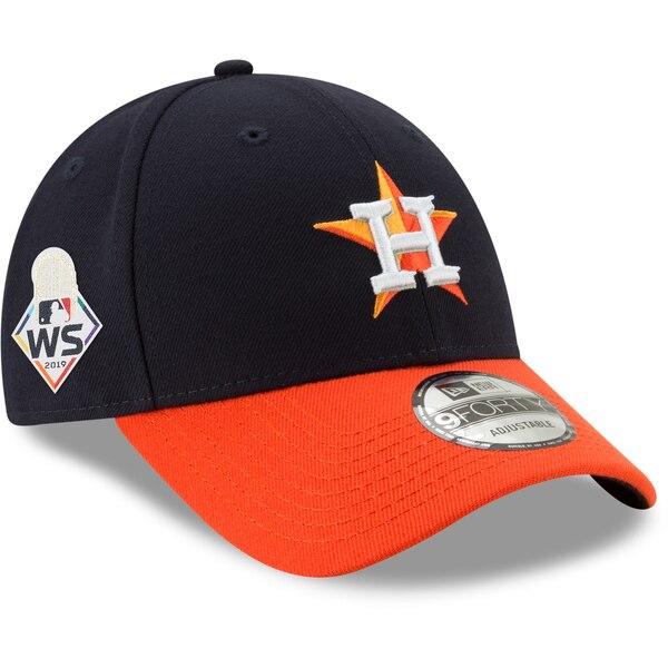 ワールドシリーズ進出 MLB ヒューストン・アストロズ キャップ/帽子 2019 ワールドシリーズ サイドパッチ 9FORTY ニューエラ/New Era ネイビー オレンジ【191028変更】
