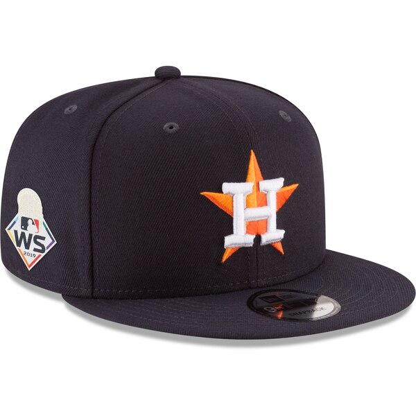 ワールドシリーズ進出 MLB ヒューストン・アストロズ キャップ/帽子 2019 ワールドシリーズ サイドパッチ 9FIFTY ニューエラ/New Era ネイビー【191028変更】