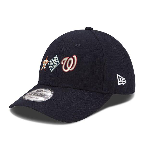 ワールドシリーズ進出 MLB ワシントン・ナショナルズ ヒューストン・アストロズ キャップ 2019 ワールドシリーズ デュエリング 9FORTY ニューエラ/New Era【191028変更】