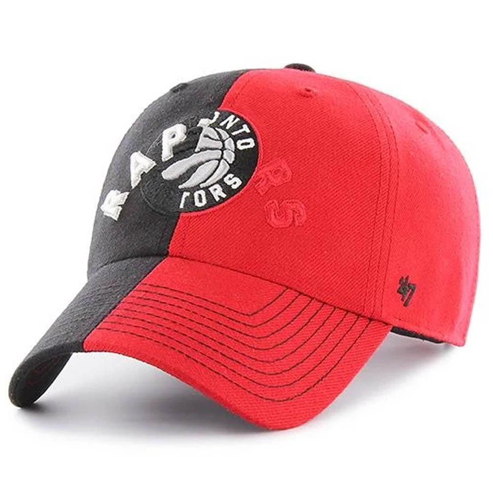 NBA トロント・ラプターズ キャップ/帽子 スプリット トーン 47 Brand ブラック【191028変更】
