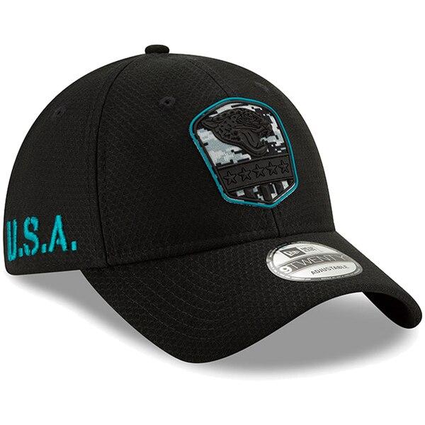 NFL ジャガーズ キャップ/帽子 2019 サルート トゥ サービス 9TWENTY ニューエラ/New Era ブラック【1911NFL変更】