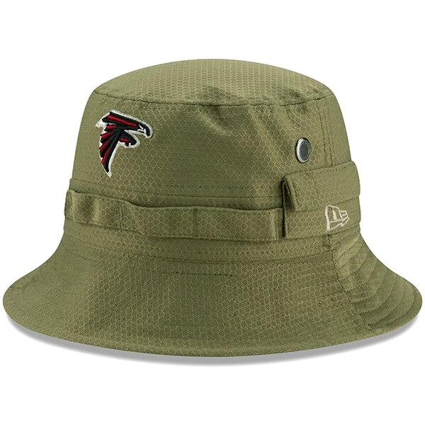 NFL ファルコンズ キャップ/帽子 2019 サルート トゥ サービス サイドライン アドベンチャー バケット ハット ニューエラ/New Era