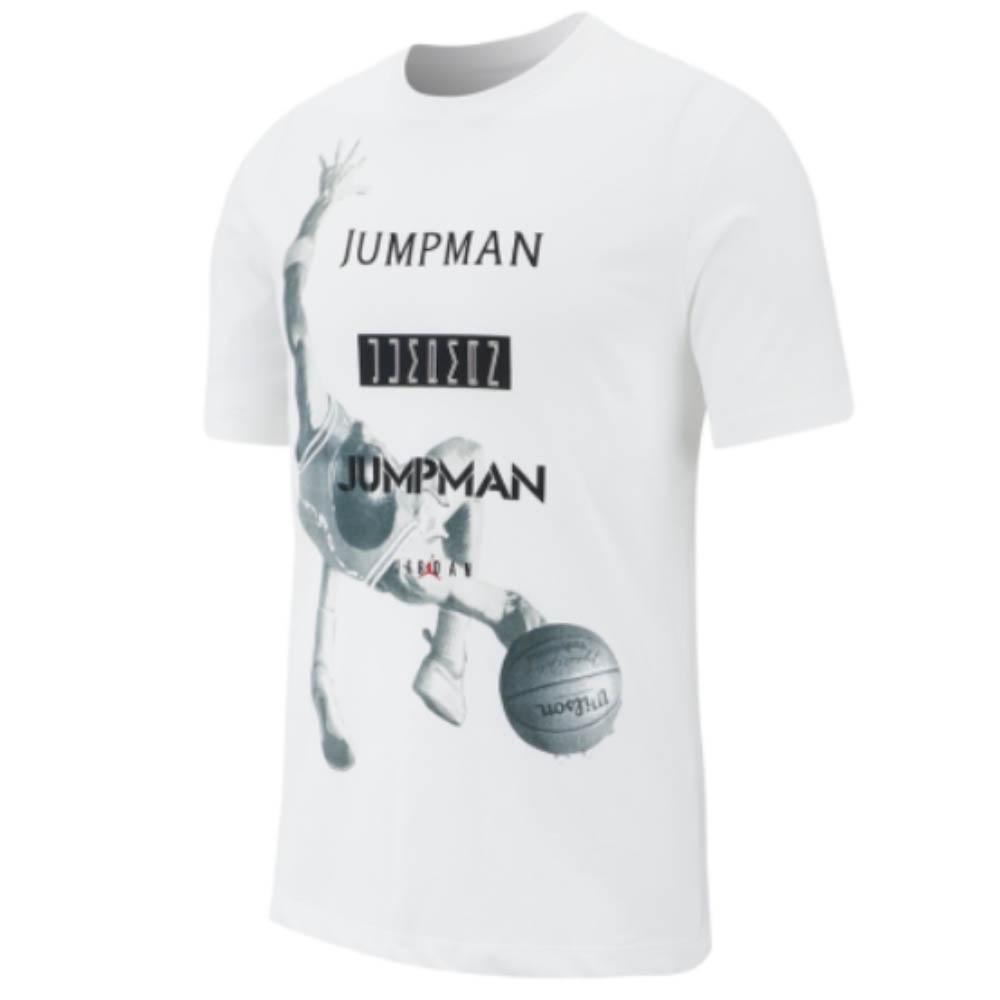 ナイキ ジョーダン/NIKE JORDAN Tシャツ M J ジャンプマン フォト SS DFCT クルー ホワイト AT8925-100