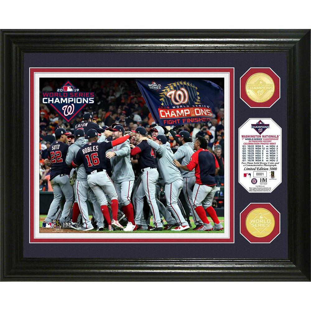 MLB ナショナルズ 2019 ワールドシリーズ 優勝 記念 ブロンズコイン The Highland Mint Mint
