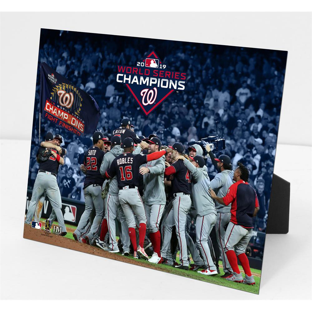 MLB ナショナルズ 2019 ワールドシリーズ 優勝 PleXart The Highland Mint Champion