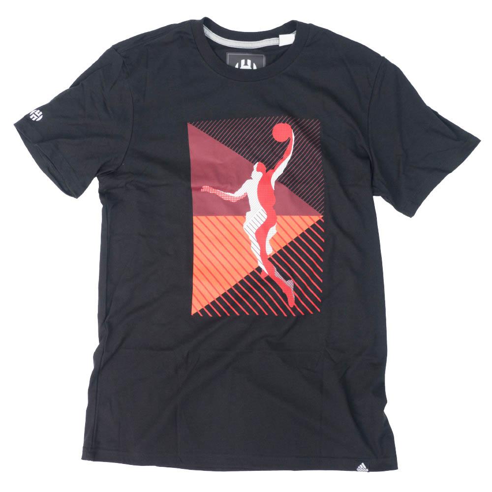 NBA Tシャツ ジェームス・ハーデン ヒューストン・ロケッツ ショー アウト アディダス/Adidas ブラック【1911NBAt】