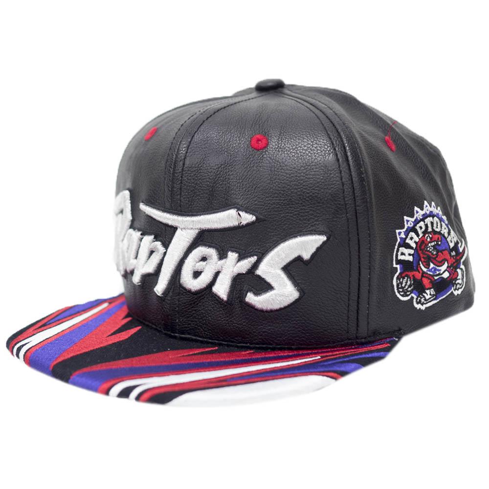 NBA トロント・ラプターズ キャップ/帽子 ラピッド スナップバック Mitchell & Ness ブラック