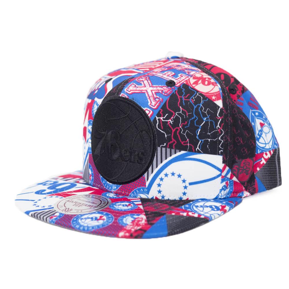 NBA フィラデルフィア・76ers キャップ/帽子 ハードウッドクラシック Mitchell & Ness ロイヤル