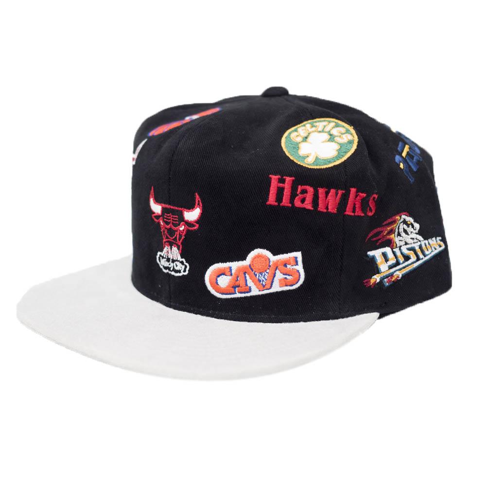 NBA キャップ/帽子 1983 オールスター オーバーコレクション Mitchell & Ness ブラック