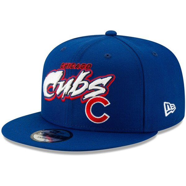 MLB シカゴ・カブス キャップ/帽子 レトロ グラフィティ 9FIFTY ニューエラ/New Era ブルー