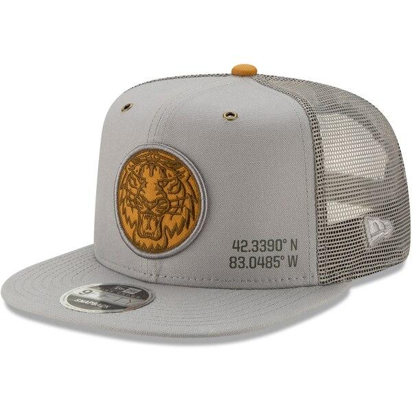 MLB デトロイト・タイガース キャップ/帽子 ラティチュード トラッカー 9FIFTY ニューエラ/New Era グレー