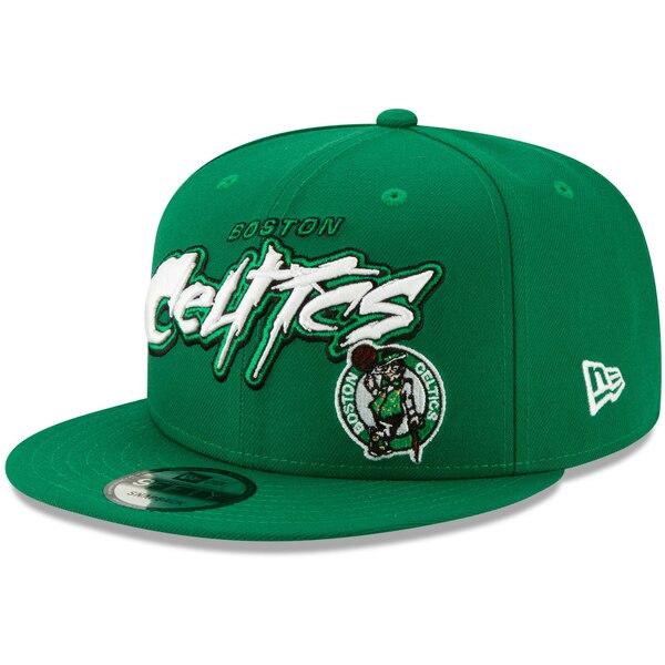 NBA ボストン・セルティックス キャップ/帽子 レトロ グラフィティ 9FIFTY ニューエラ/New Era ケリーグリーン